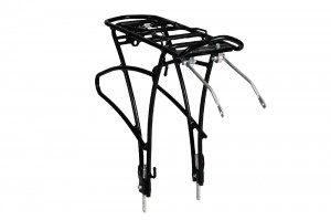 Universal rear alloy rack